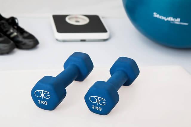 fitness hantle ćwiczenia
