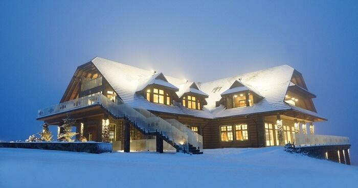 Hotel w górach, w Istebnej,  Złoty Groń