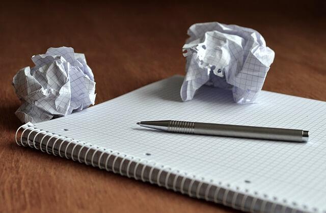 niezapisany notatnik