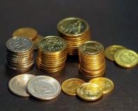 stosik polskich monet