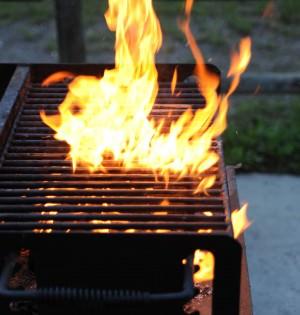 grill na lato