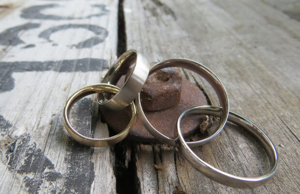 Na którym palcu nosi się obrączki