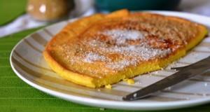 przepis na śniadaniowy omlet na słodko
