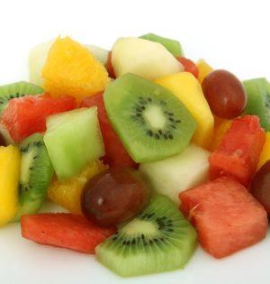 Obrane i pokrojone owoce