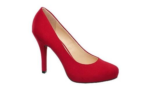 czerwone buty damskie