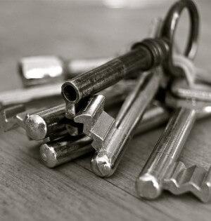 klucze do drzwi