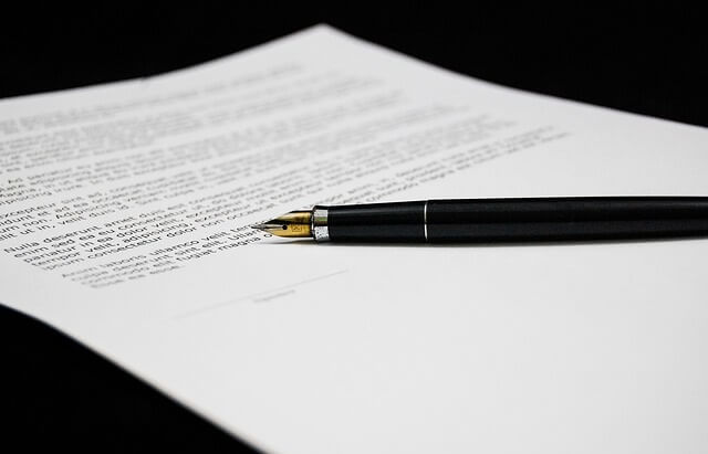Umowa do podpisania