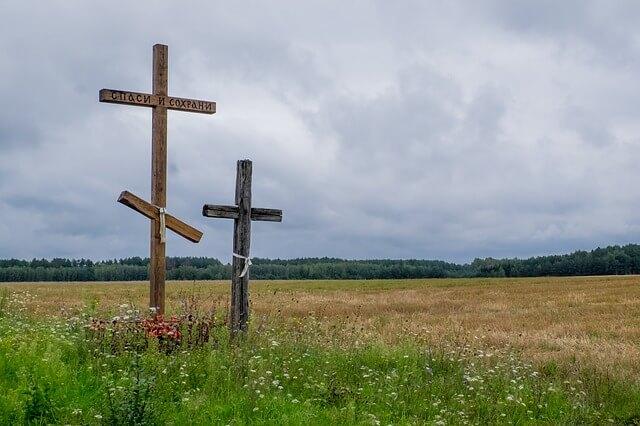 dwa krzyże