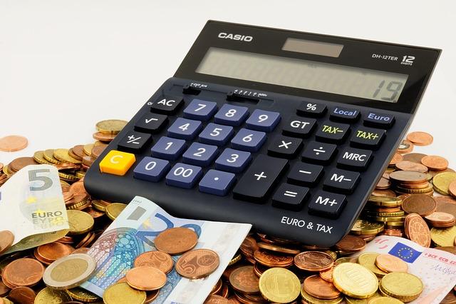 kalkulator i drobne