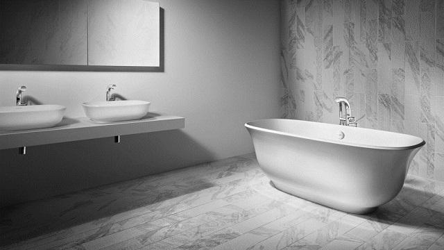 nowoczesna aranżancja łazienki